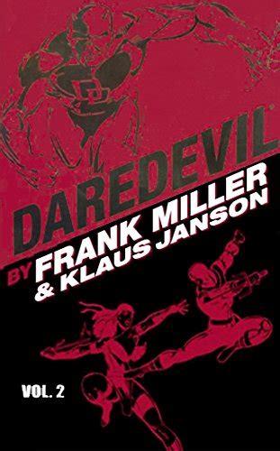 daredevil by frank miller klaus janson volume 2 tpb v 2 libro para leer ahora trade reading order 187 creator 187 frank miller