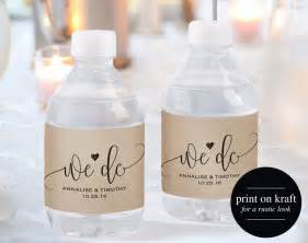 personalized water bottle label template wedding water bottle label water bottle label printable