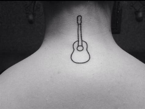 small guitar tattoo the 25 best ideas about guitar on
