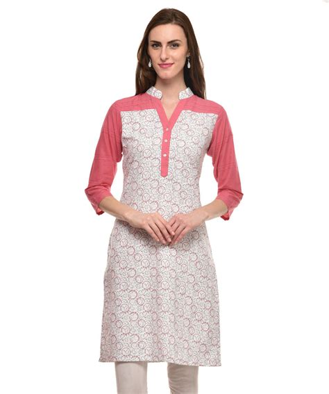 Casual White Import Limited casual white kurti 3700 a