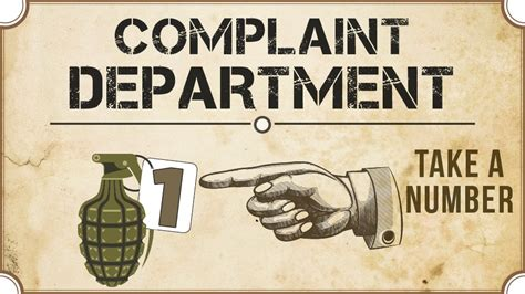 Complaint Department by When Cruise Holidays Go Bad
