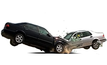 wrecked car transparent motorists impacts on road autoxpat