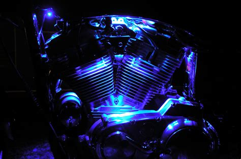 Led Lighting For Motorcycles Mr Kustom Chicago Mr Custom Led Lights