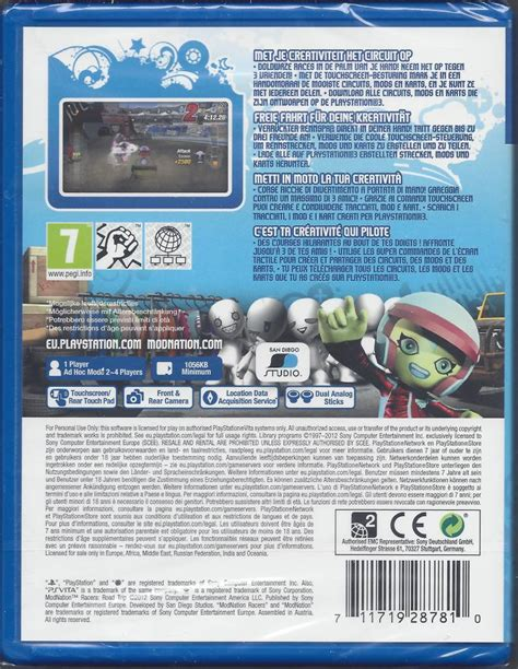 Cd Modnation Racers modnation racers road trip for ps vita new worldwide shipping fast dispatch for