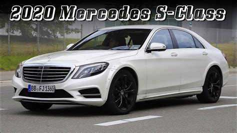 2020 Mercedes S Class by All New 2020 Mercedes S Class W223 Early Test Mule
