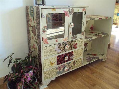 tutorial decoupage en muebles decoupage el mueble de carmen moloko paperblog
