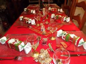 dcoration table de noel avec lareduc