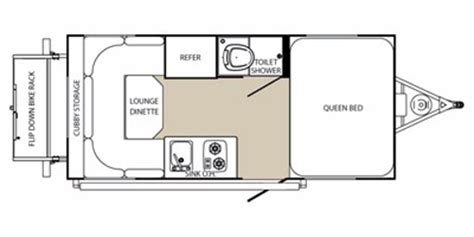 small travel trailer floor plans denver rv rent small travel trailer