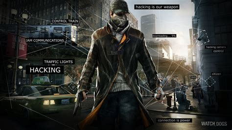 Wallpaper Game Ps3 Keren | test watch dogs