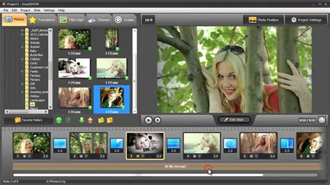 design photo slideshow how to make a cool happy birthday slideshow youtube