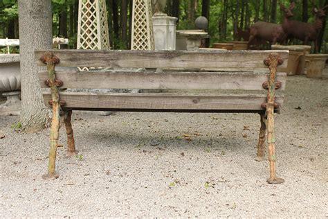 antique outdoor bench antique english garden bench