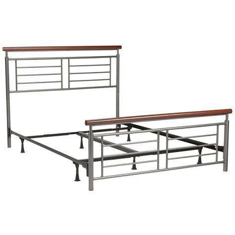 modern metal bed contemporary metal bed cherry in beds and headboards