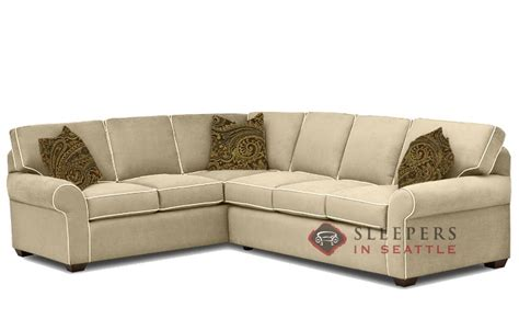 Quick Ship Seattle True Sectional Fabric Sofa By Savvy Sectional Sofa Seattle