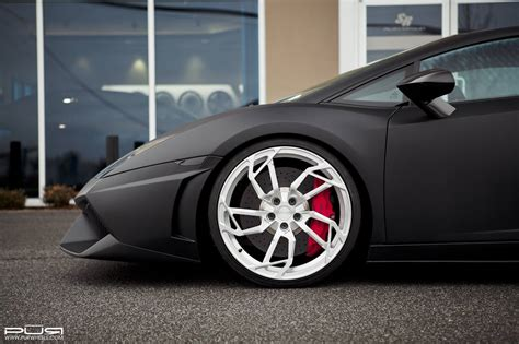 Wheels Lamborghini Egoista Matte Black Lamborghini Gallardo Lp560 4 On Egoista