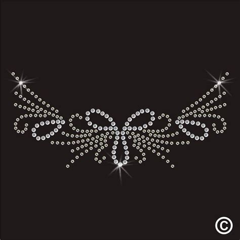 Neckline Rhinestone Diamante Transfer Iron On Hotfix Crystal Motif Applique Gem Ebay Rhinestone Hotfix Templates