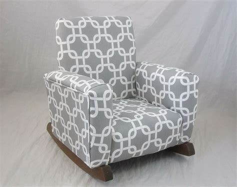 childrens upholstered chair new childrens upholstered rocking chair gotcha gray toddle