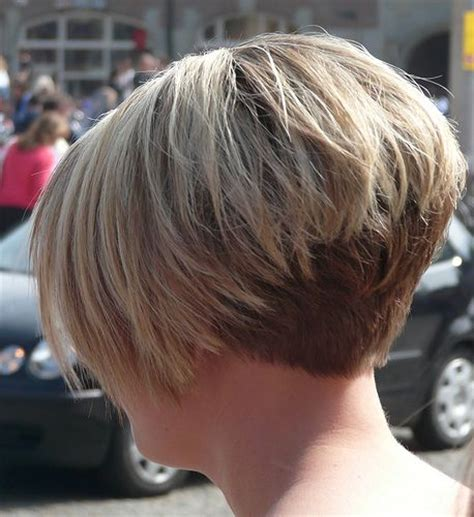 short gray hairstyles with wedge in back 17 best ideas about stacked inverted bob on pinterest