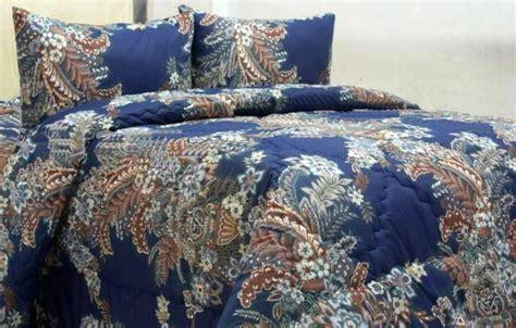 Harga Merk Ashanty seprei dan bedcover ashanty biru toko bunda