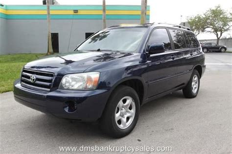 auto air conditioning service 2005 toyota highlander parental controls find used 2005 toyota highlander 1 owner no accident us bankruptcy court auction in fort