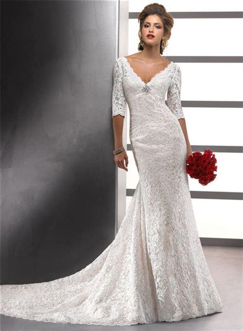 Long Sleeved Wedding Dresses Canada