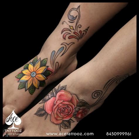 rose flower tattoo meaning unique flower designs for best studio