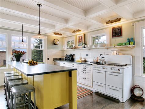 yellow kitchen cabinets eclectic kitchen 8 enhancements for white kitchen cabinets
