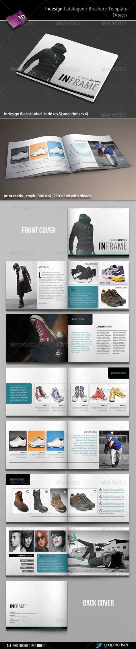 Indesign Catalogue Brochure Template By Kartodarim Graphicriver Indesign Catalog Templates