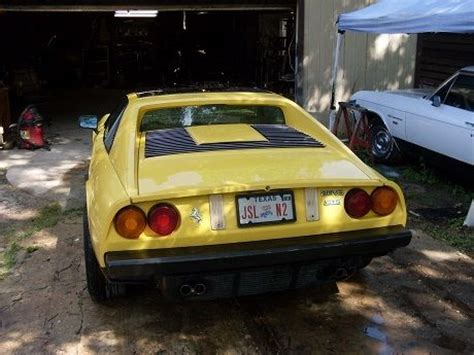 old car owners manuals 1988 pontiac safari instrument classic 1988 fiero mera 308 ferrari for sale detailed