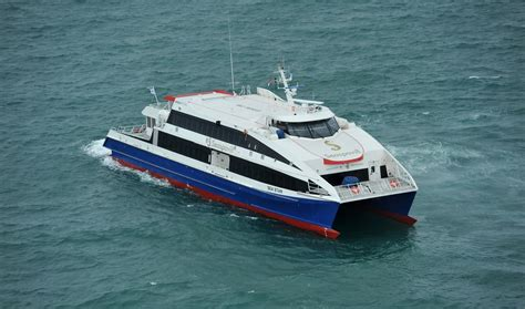 catamaran fast ferry for sale damen fast ferry 4212 quot sea star quot deliveries damen fast