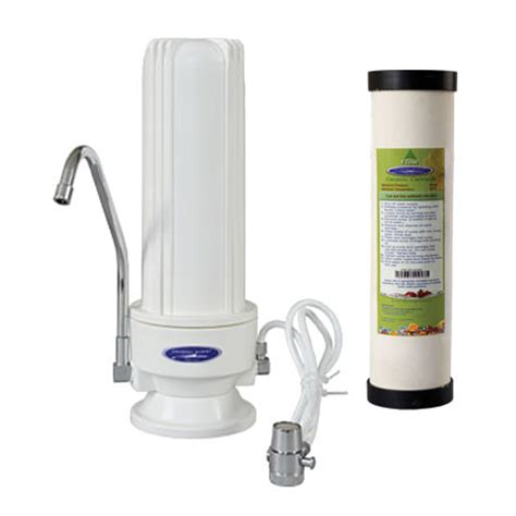 Countertop Water Purifier by Countertop Ceramic Water Filter White