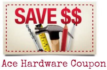 ace hardware discount ace hardware coupon 5 off 25 purchase southern savers