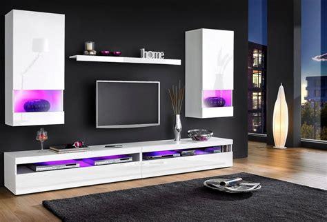 wohnzimmerwände tecnos wohnwand 5 tlg kaufen otto