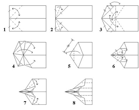 Steps To Make Paper Airplanes That Fly Far - on how to make paper airplanes that fly far