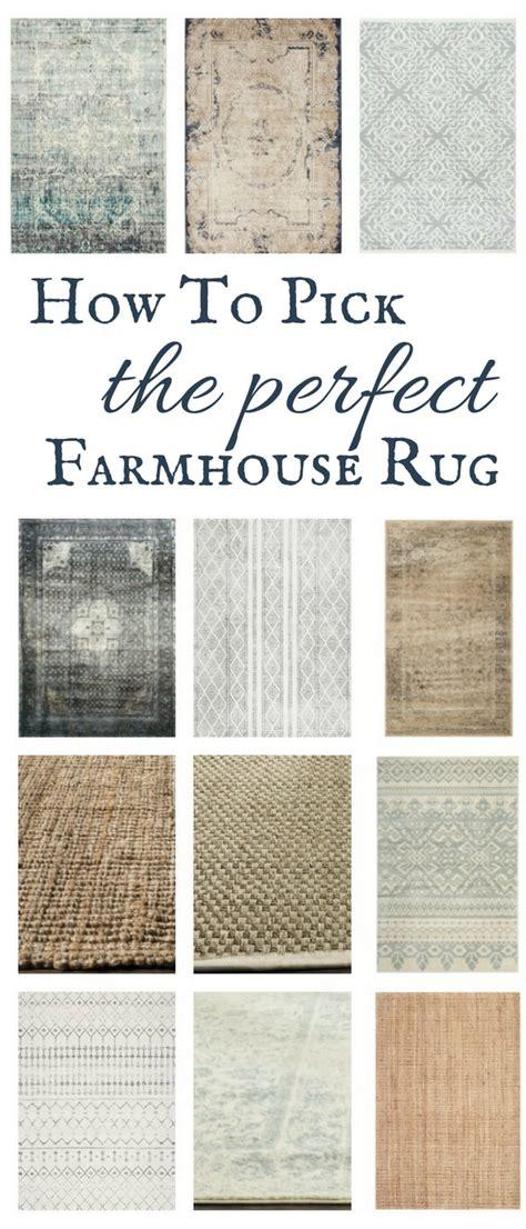 Distressed Farmhouse Rug - find the farmhouse style rug twelve on