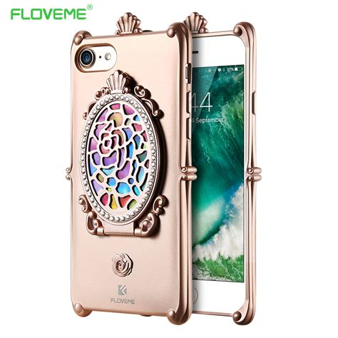Hardcase Design Floveme For Iphone 7 Plus Free Stand Holder floveme luxury cell phone cases for iphone 6 6s plus