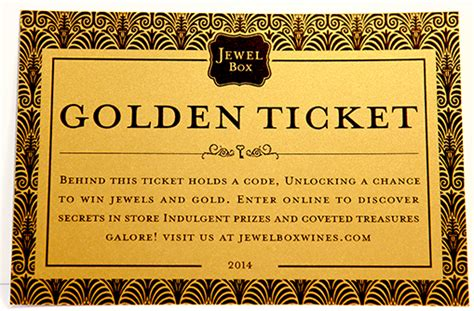 Jewel Sweepstakes - jewel box golden ticket sweepstakes unlock a chance to win jewels and gold