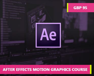 tutorial motion design after effects after effects motion graphics course how to learn online