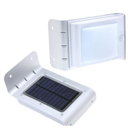 Lu Pagar Taman 16 Led Solar Cell lu dinding tenaga surya 16 led sensor gerak pir