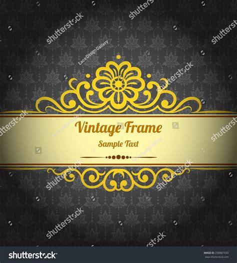 elegant layout book vintage background design elegant book cover stock vector