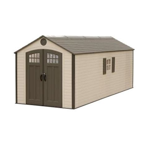 6 X 20 Shed Lifetime 8 Ft X 20 Ft Plastic Storage Shed 60120 The
