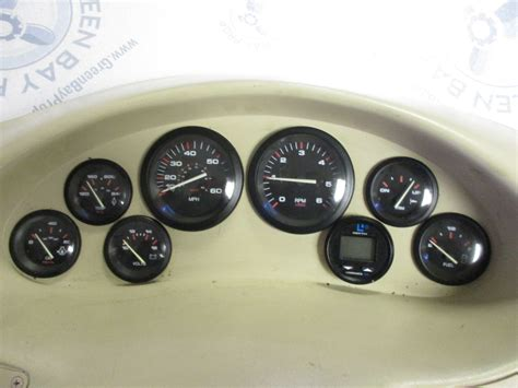 boat dash gauges 1998 wellcraft excel 19ssx boat dash panel instrument
