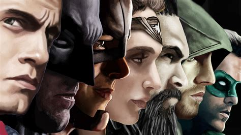 Character Dc Comic A1550 Samsung Galaxy A5 2017 Print 3d hd background justice league characters batman superman aquaman arrow flash wallpaper