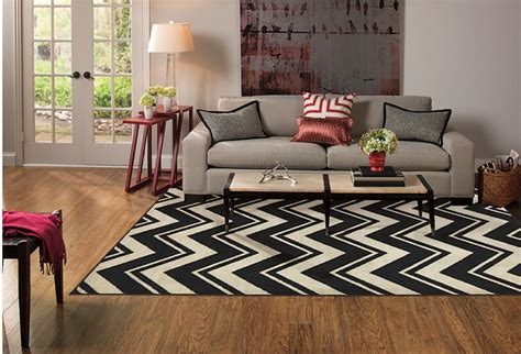 chevron print area rug mohawk home lascala chevron stripe black white