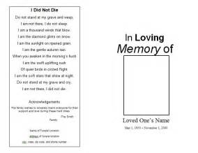 Memorial Service Program Templates by Memorial Service Program Template Best Business Template