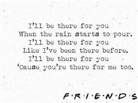song for a friend friends theme song lyrics songs i