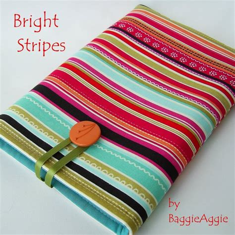 Handmade Fabric - handmade fabric kindle bright stripes craftjuice