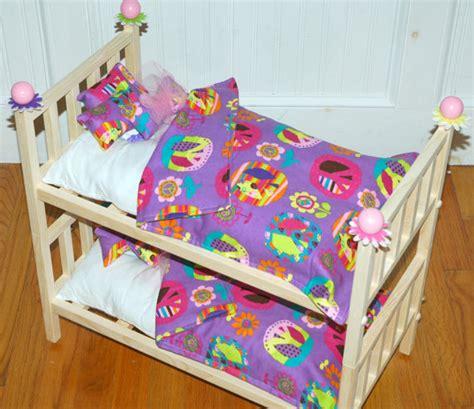 american girl julie bed doll bunk bed purple peace julie bunk bed fits