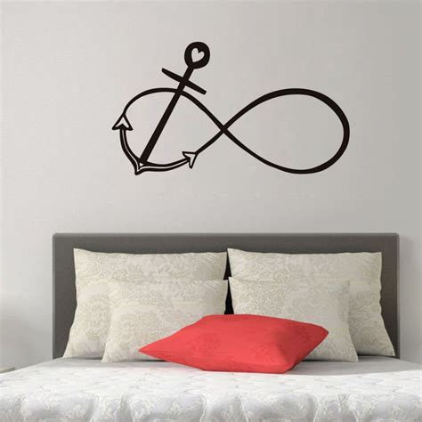Wall Sticker Infinity Home Decal Room Decor 1 anchor promotion shop for promotional anchor on