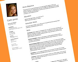 Resume Template For A Teenager Resume For Teenagers The Kids Are All Right