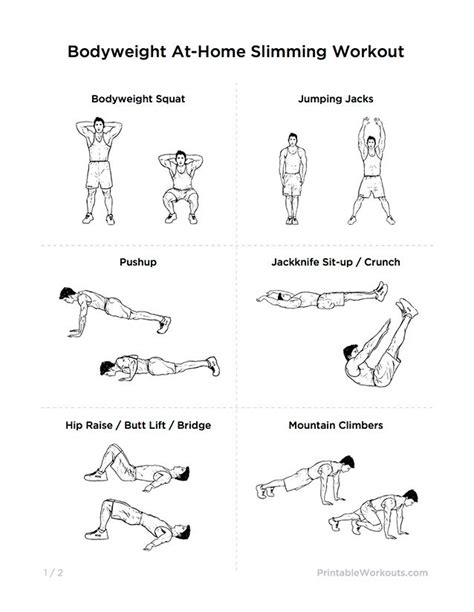 15 must see home workout for pins fitness for